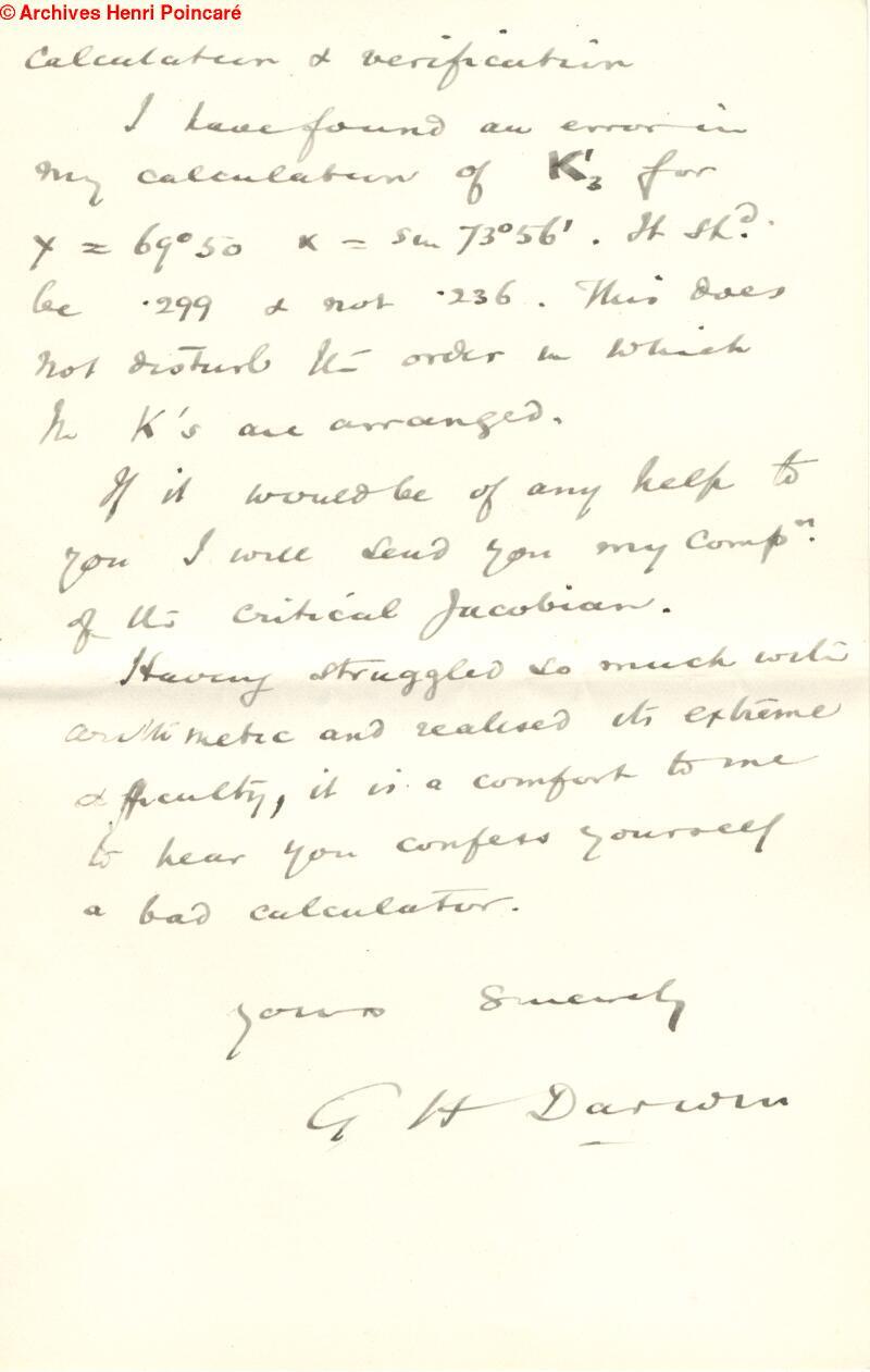 Henri Poincaré Papers
